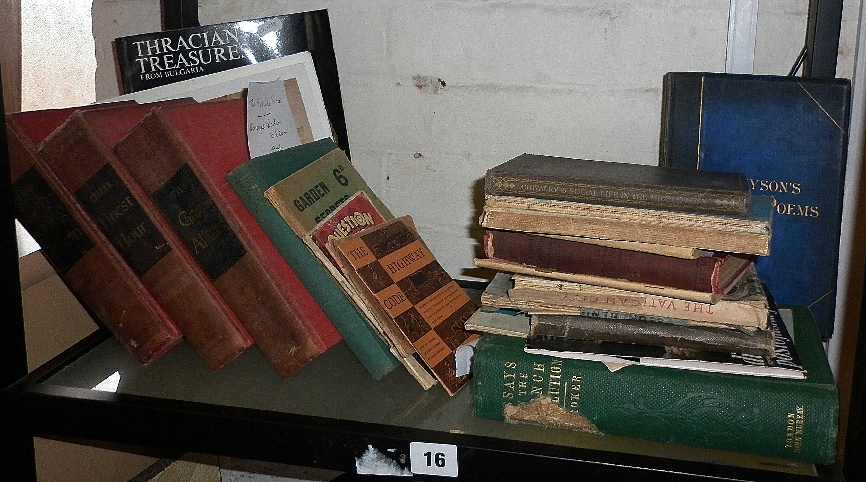 Crokers 'Essays on the French Revolution', 1857, pub. John Murray and other books and booklets