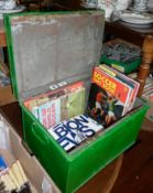 Collection of Football and Rugby Programmes, 1960's onwards and six soccer albums