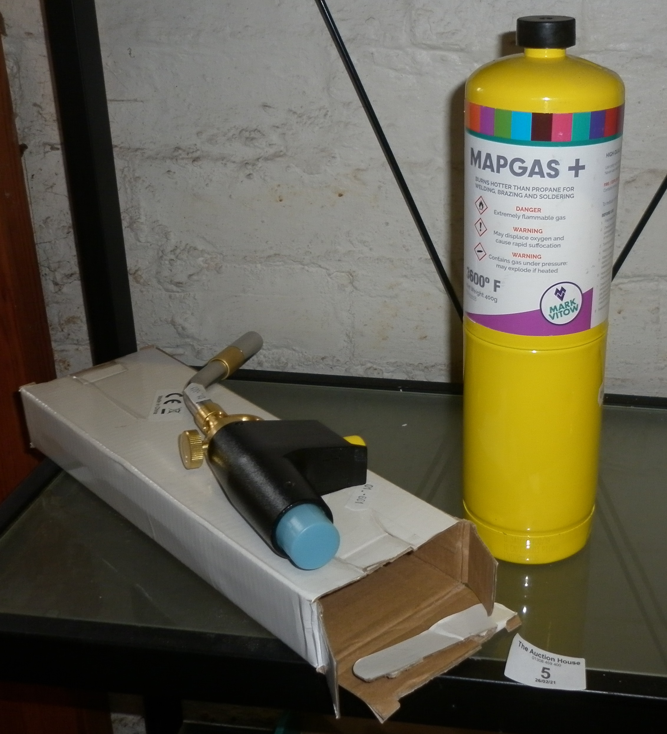 A Map Gas blow torch, as new