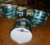 "A ""Gear4music"" drum kit"