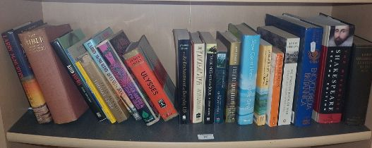 Shelf of miscellaneous books