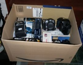 Collection of assorted digital cameras and sets