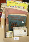 Stamp collection in four albums and some loose, inc. Penny Black, Blues and early China, etc.