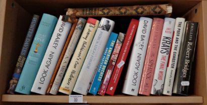 Sixteen various books