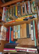Two boxes of assorted books