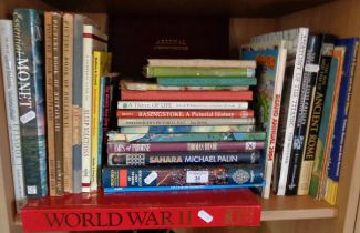 Collection of assorted books
