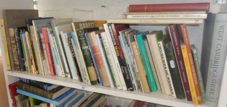 Quantity of books on the West Country and Dorset