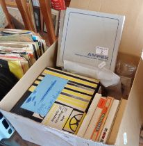 Quantity of reel to reel audio tapes (some blanks)