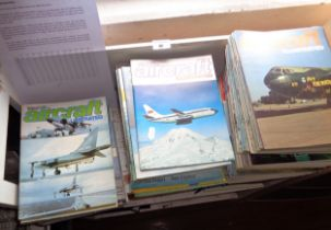 Aircraft Illustrated (Ian Allen) complete first 14 years, 162 issues, 1968-1981