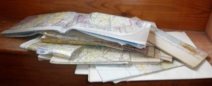 Quantity of Ordnance Survey maps and Topographical Air Charts