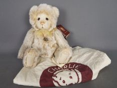 Charlie Bears - a Charlie Bear entitled Brenda CB171741 exclusively designed by Isabelle Lee with