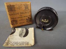 "A vintage Hardy Bros Ltd 'Uniqua' 2 7/8"" fly reel,"
