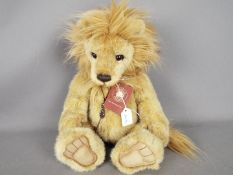 Charlie Bears - a Charlie Bear entitled Linus CB141473 exclusively designed by Isabelle Lee with