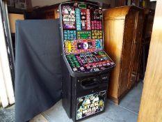 Star Wars - A Barcrest fruit machine, Star Wars - Death Star Assault, £70 Jackpot,