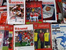 Arsenal Football Programmes.