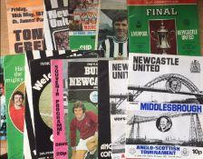 Newcastle United Football Programmes.