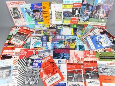 Tottenham Hotspur - a collection of 71 all different AWAY programmes dating from 1959 to 1997,