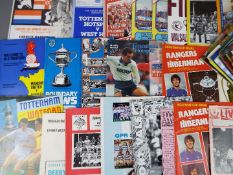 Football - a good collection in excess of 50 matchday programmes with many interesting examples to