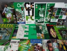 Glasgow Celtic Football Programmes.
