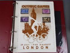 The Olympic Masterfile - a collection of official Postal Covers and mint Postage Stamps contained