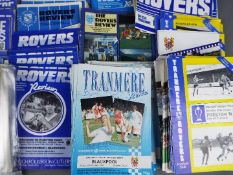 Tranmere Rovers Football Programmes.