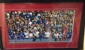 Signed Liverpool FC Picture.