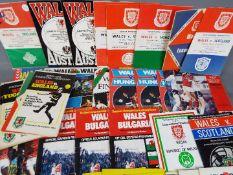 Wales International Football Programmes.