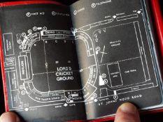 MCC Cricket Diary 1970, with integral original pencil,