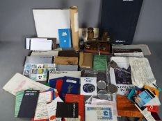 Vintage Banking Collectables - A mixed collection of vintage banking collectables to include a 1958