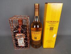 A 70cl bottle of Glenmorangie 10 Year Old single malt whisky, 40% ABV,