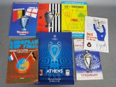 Football Programmes. European Cup / Champions League Finals.