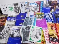 Football - a carton containing a good collection of Fanzines relating to Everton, Liverpool,