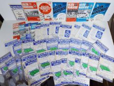 Bolton Wanderers - A collection of match programmes, predominantly home games,