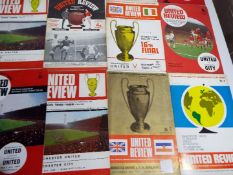 Football - a collection of 24 matchday programmes, ca 1960s,