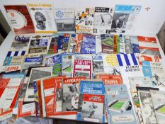 Everton F C - a collection of 154 matchday programmes from 1953 to 1969, all different,