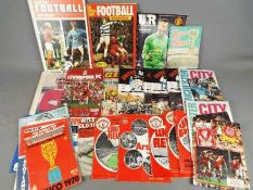 Football - a small collection of 28 matchday programmes,
