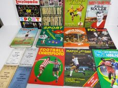 Football - a collection of hardback annuals to include Stanley Matthews Football Parade,