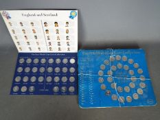 Two ESSO World Cup Coin Collections comprising 'England World Cup Team 1970' and 'England and