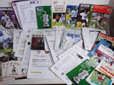 Women's Football - a good collection of memorabilia to include England Internationals and Women's