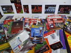 Football - a large collection of memorabilia to include match tickets,