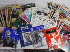 Football - six Testimonial programmes comprising Tommy Lawton (Everton v Gt Britain XI),