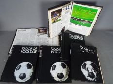 Book of Football by Marshall Cavendish - six volumes,