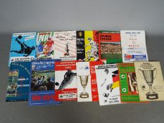 Football - European Cup Final programmes;