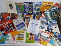 Football - a collection of 66 assorted matchday programmes to include finals, semi-finals,