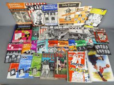 A collection of 1950's football related publications and ephemera to include Day & Mason Football