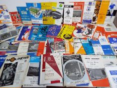 Football - a large collection of 1960s and early 1970s matchday programmes comprising a varied