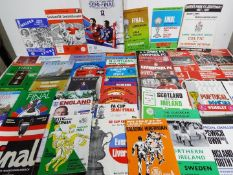Football - a collection of 50 matchday programmes to include 38 Big Match Specials,