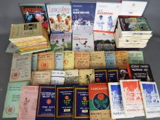 Cricket - A good collection of Lancashire Cricket Annuals and Handbooks,