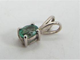 Gemporia - A 0.38 ct Zambian Emerald and