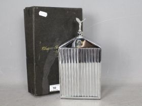 Automobilia - A Ruddspeed novelty spirit decanter in the form of a Rolls Royce radiator c.